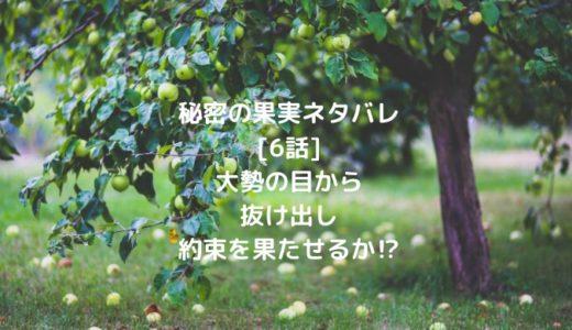 秘密の果実ネタバレ[6話]大勢の目から抜け出し約束を果たせるか⁉︎