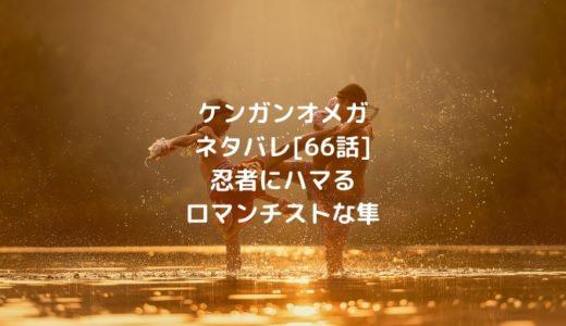 ケンガンオメガネタバレ[66話]忍者にハマるロマンチストな隼
