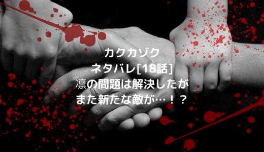 カクカゾクネタバレ[18話]凛の問題は解決したがまた新たな敵が…!?